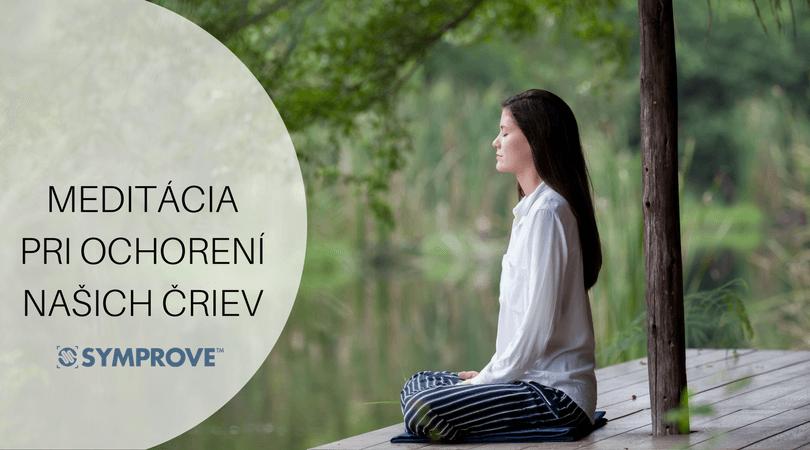 Meditácia pomáha znížiť príznaky ochorení čriev